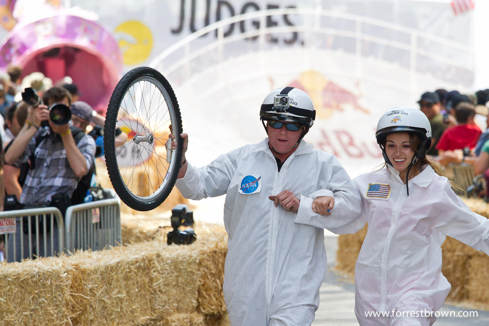 2011 Red Bull soapbox races in downtown Los Angeles.