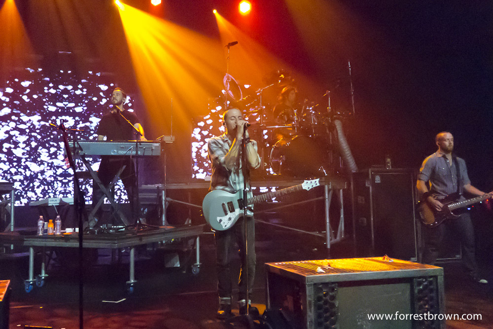 B'z and Linkin Park Benefit Concert for Japanese Earthquake Relief at the Mayan Theater in downtown Los Angeles.