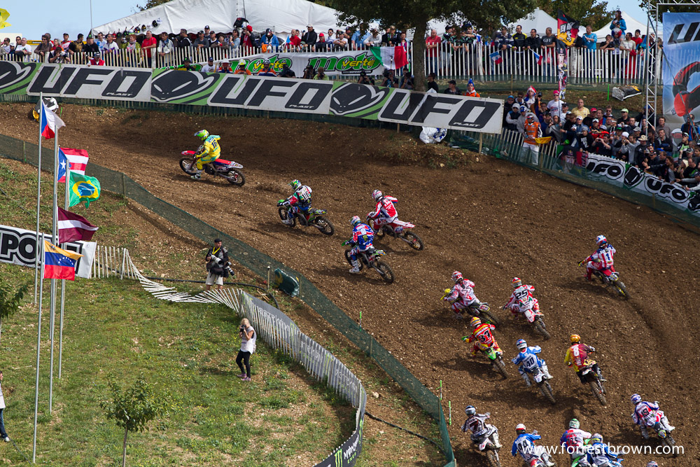 2011 Motocross of Nations in France. Race 1 (MX1 + MX2).