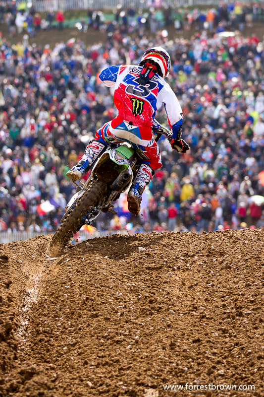 2011 Motocross of Nations in France. Race 3 (MX1 + Open).