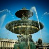 Fontaines de la Concorde in Paris France