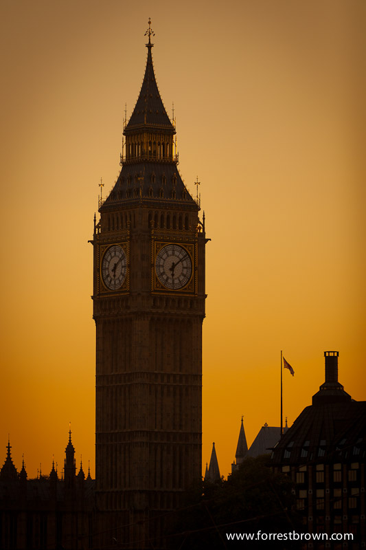 Big Ben in London England