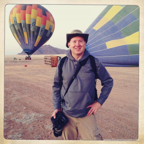 Hot Air Balloon Ride Over Namibia
