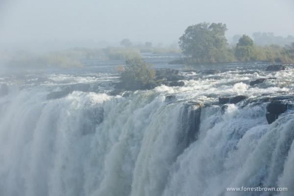 Misty Victoria Falls