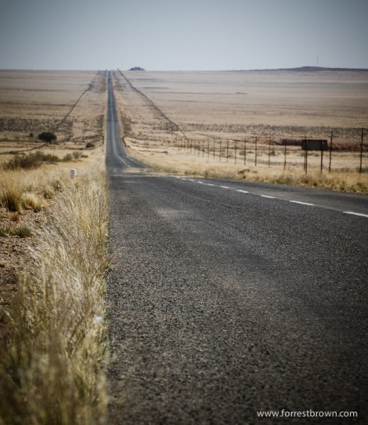 Long Stretches of Empty Road